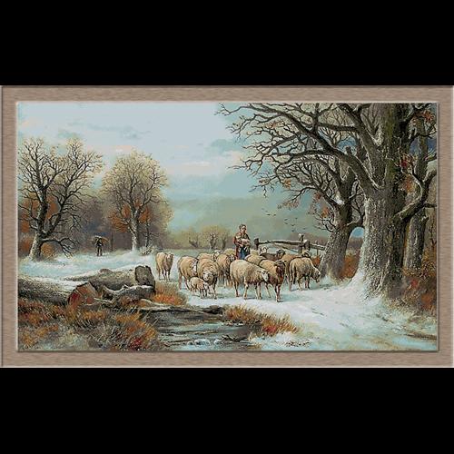 2832.Alexis de Leeuw-shepherdess