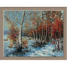 iarna in padure