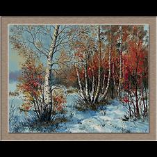 2834.Tél az erdőben