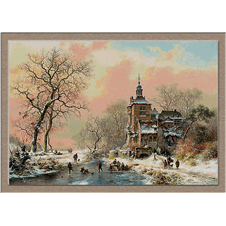 2835.Frederik Marinus Kruseman-Winter on ice