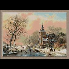2835.Frederik Marinus Kruseman-Winter on ice