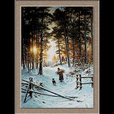 2837.Joseph Farguharson-дърва за горене