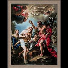 2840.Francesco Trevisani-Kръщение