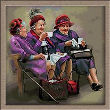 2841.Pat Brennan-стари дами