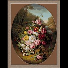 2848.Jean-Baptiste Robie-Csokor virágot