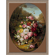 2848.Jean-Baptiste Robie.Bouquet of flowers