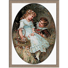 2852.Frederick Morgan.Spring feelings