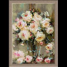 2854.Rózsa vázában