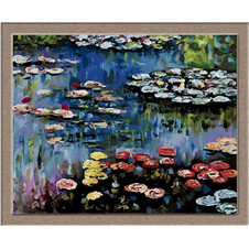 2860.Claude Monet-Waterlilies