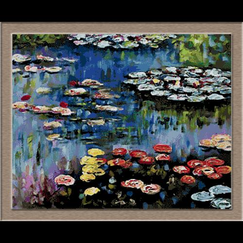 2860.Claude Monet-лилия