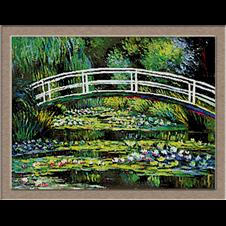 2861.Claude Monet-átkelés a liliomok felett
