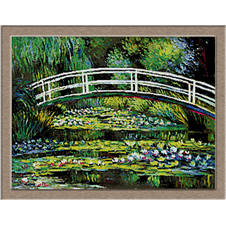 2861.Claude Monet-пресичане на водни лилии