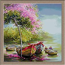 2864.Spring on the lake