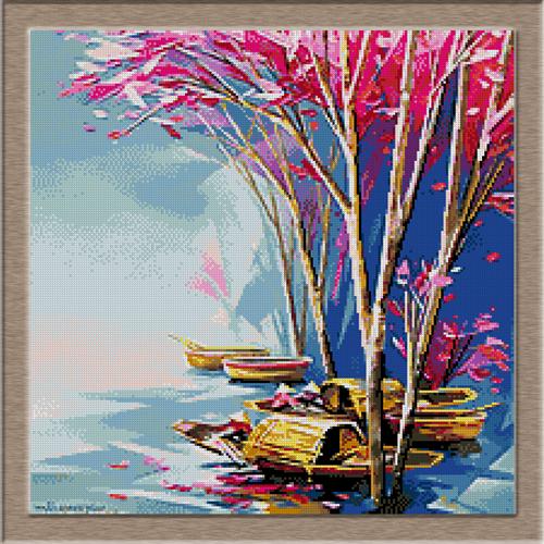 2866.Есен на езерото