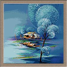 2867.Zima na jezeru