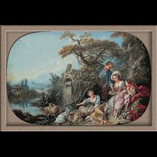 2872.Boucher-Гнездото на птиците