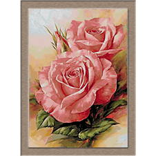 2873.Rózsaszín rózsák