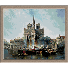 2874.Edwin Deakin-Notre Dame de Paris