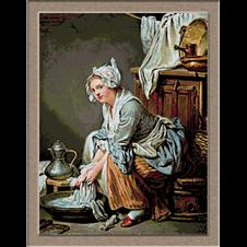 2879.Jean Baptiste Greuze.laundrywoman