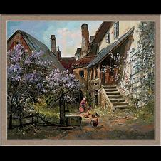 2884.Alois-Arnegger-заден двор