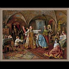 2907.Konstantin Makovsky-játszik