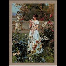 2871.Wilhelm Menzler-В градината
