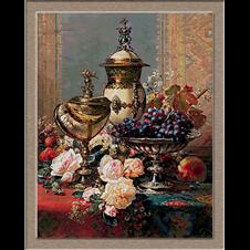 2914Jean-Baptiste Robie-Rózsa és gyümölcs