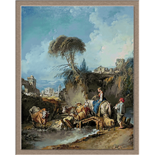 2916.François Boucher-Pastirski pejzaž