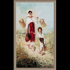 2925.N.Grigorescu-Peasant woman