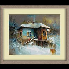 2941.Winter in the village