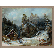 2942.Joseph Altenkopf-Зима в планината