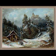 2942.Joseph Altenkopf.Tél a hegyekben