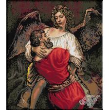 353.Rembrandt - Lupta cu ingerul