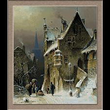 2947.August Schlieker.град на Рейн