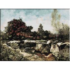 469. Grigorescu - Stancile de le Fointainebleau