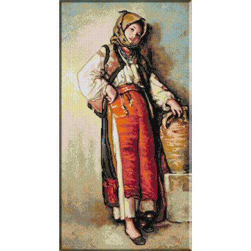 470.Grigorescu - Taranca cu ulciorul