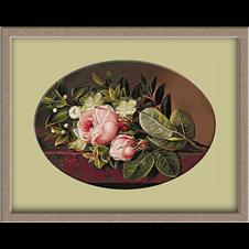 2977.Johan Laurentz Jensen.Bouquet of roses