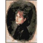473.Grigorescu. Portretul d-nei Alexianu
