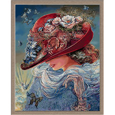 3006.Piros kalap
