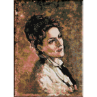 474. Grigorescu.Portretul Alexandrinei Filio