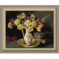 3003.Honorius Cretulescu.carnations