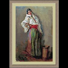 3010.Nicolae Vermont Parasztasszony