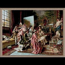3017.Arturo Ricci-школа по рисуване