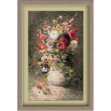 3018.N.Grigorescu-Garden flowers
