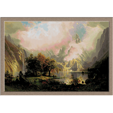 3026.Albert Bierstadt.Rocky Mountain