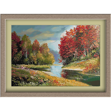 3041.Obale jesenje reke