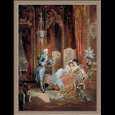 1608.Carl Schweninger.Galantna poseta
