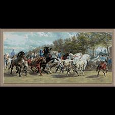 3044.Rosa Bonheur.Horse Fair