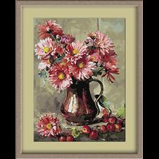 3046.Crizanteme si fructe