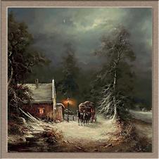 3057.Ludwig Munninger.зима в хана